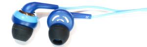 Benetton Kopfhörer blau