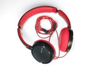 PHILIPS-SHL 500-Kopfhörer Test