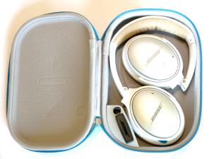 Bose QuietComfort25 mit Tasche