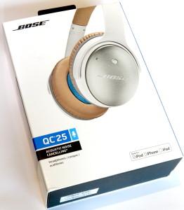 Verpackung - Bose QuietComfort 25