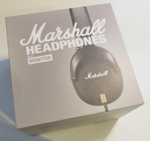 Marshall Monitor Verpackung